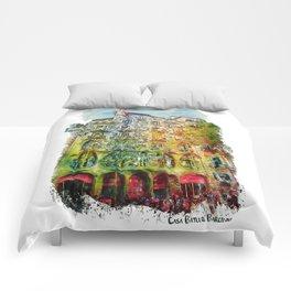 Casa Batllo Barcelona Comforters
