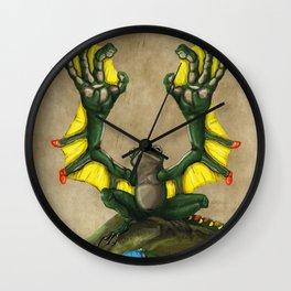 Lliam Y Hygin Wall Clock