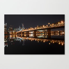 Hawthorne Bridge Canvas Print