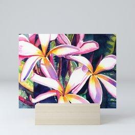 Sunny Day Plumerias Mini Art Print