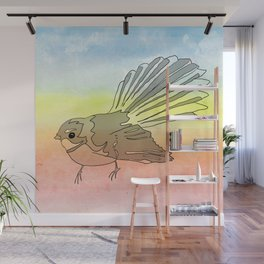 Fantail Wall Mural