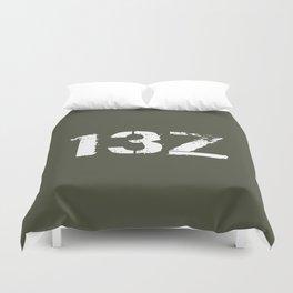 13Z Field Artillery Duvet Cover