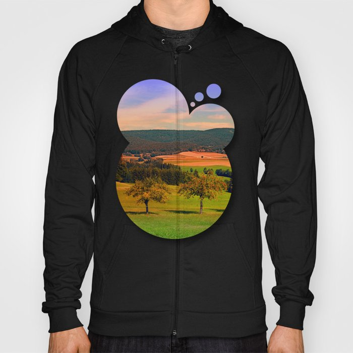 Two rival trees Hoody