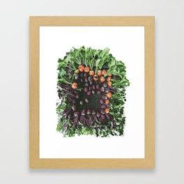 Feel the Beet Framed Art Print