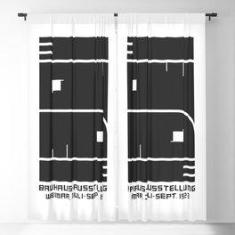 1923 GERMAN WEIMAR BAUHAUS ART EXHIBITION AUSSTELLUNG V.2 A3 POSTER RE PRINT Blackout Curtain