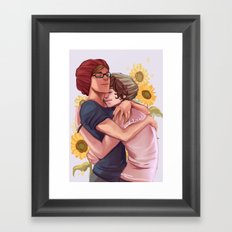 baby boyfriends Framed Art Print