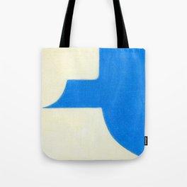 Driveway in Blue Tote Bag