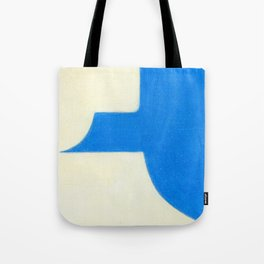 Driveway in Blue Tote Bag