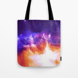 Stars & Flames Tote Bag