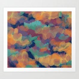 Blarp Art Print