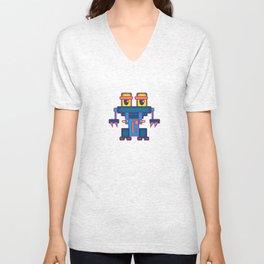 Robot 06 Unisex V-Neck