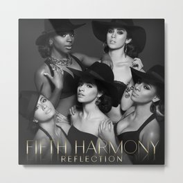 Fifth Harmony - Reflection Metal Print