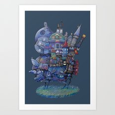 Fandom Moving Castle Art Print