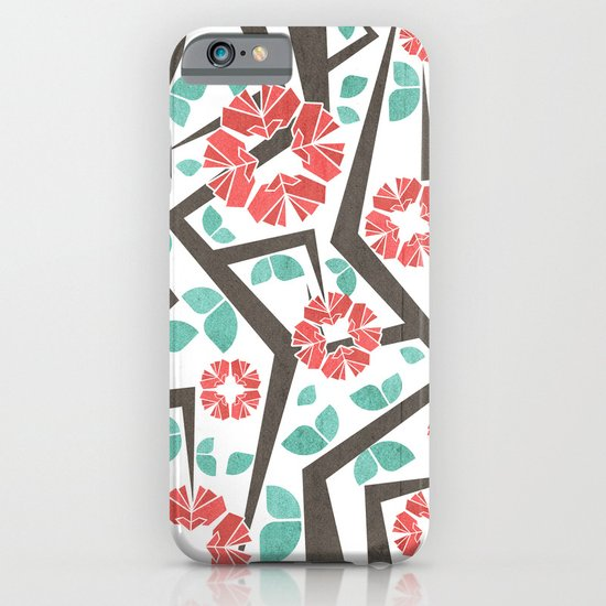 Blooming Trees Pattern IV iPhone & iPod Case