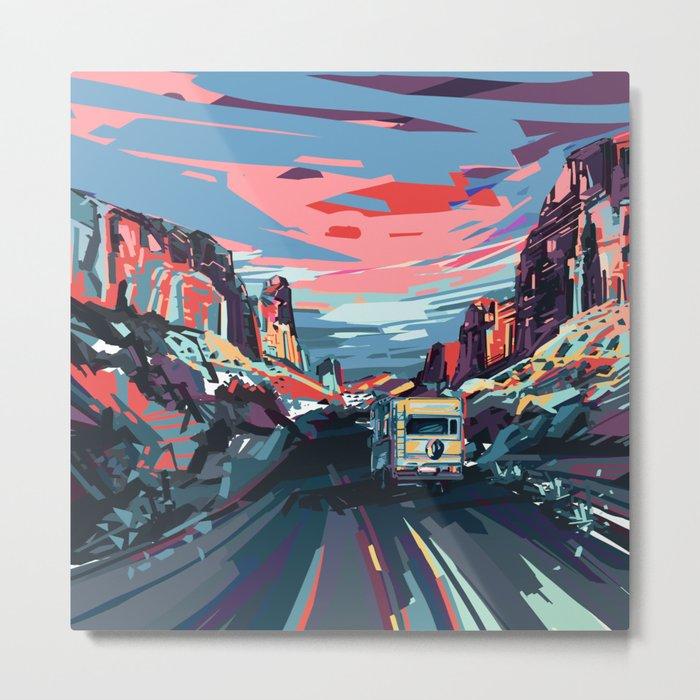 american landscape 4 Metal Print