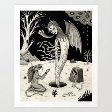 Arisen Art Print