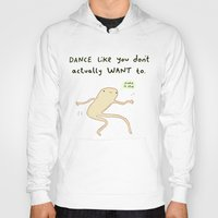 motivation Hoodies featuring Dance Motivation by Sophie Corrigan