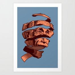 E=M.C. Escher Art Print