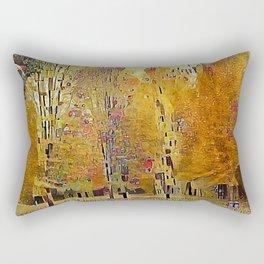 Klimt Trees Rectangular Pillow