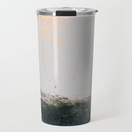 abstract smoke wall painting Travel Mug