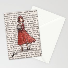 Armfuls Of Books Stationery Cards