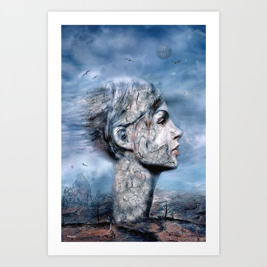 Der Windsturm ! (Solo) Art Print