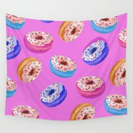 Donuts Party I Wall Tapestry