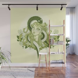 Cute Medussa  Wall Mural