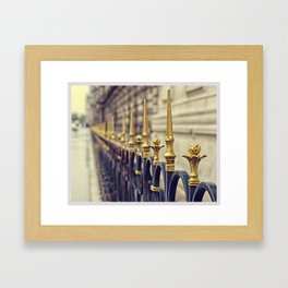 Color Theory, Gold Framed Art Print