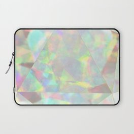 Milky White Opal Laptop Sleeve