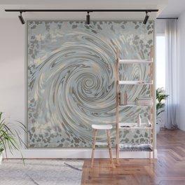 GRAY SAFARI FLOW Wall Mural