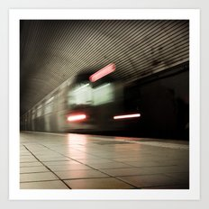 Warp Tunnel Art Print