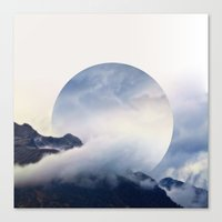 witchoria Canvas Prints featuring Daydreaming.  by witchoria
