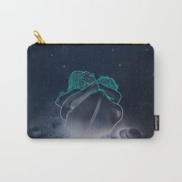 beautifully unfinished Carry-All Pouch