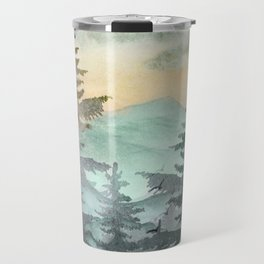 Pine Trees Travel Mug