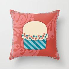 Cupcake 2 Throw Pillow