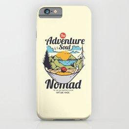 The Adventure Soul iPhone Case