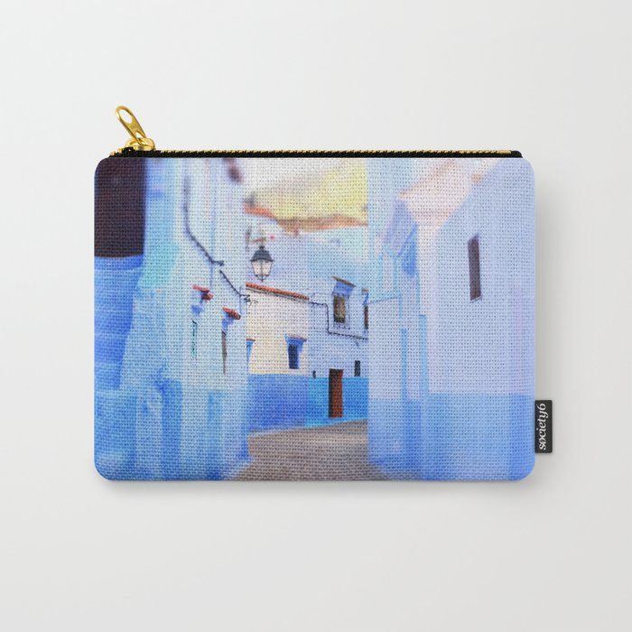Moroccan Architecture Carry-All Pouch