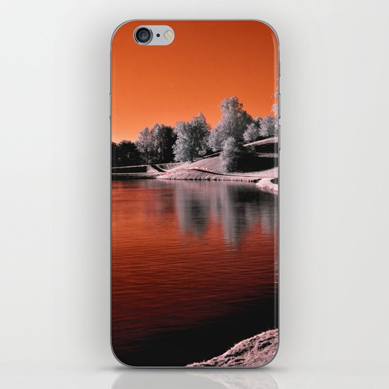 Infrared Sunrise iPhone Skin