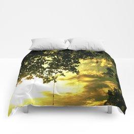 Soaring Sunset Comforters