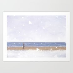 Calm and Quiet Art Print