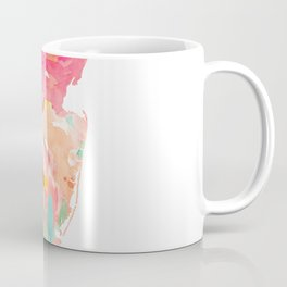 new jersey floral state map Coffee Mug