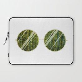 Olive Univese Glasses Laptop Sleeve