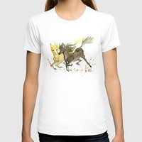 horses T-shirts featuring Horses by JoJo Seames