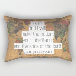 Ask me Rectangular Pillow