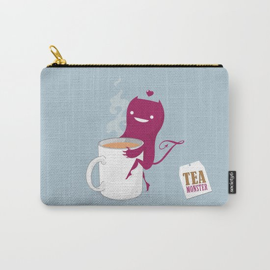 Tea Monster Carry-All Pouch