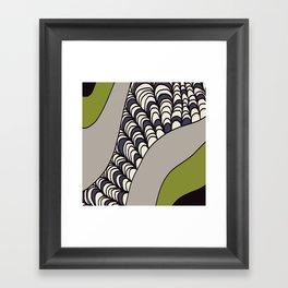 Green Rolled Framed Art Print