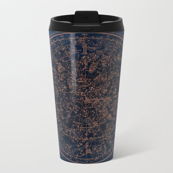 Constellations of the Northern Hemisphere Metal Travel Mug