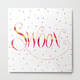 Swoon Metal Print