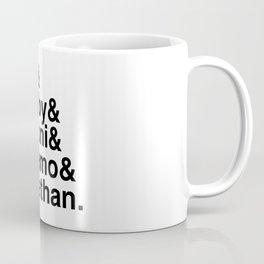 Queer Eye Helvetica Names Tan Bobby Antoni Karamo Jonathan Coffee Mug